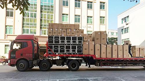 云南省武定县采购了爵士龙民用音响351套民用视频拉杆音响设备