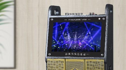 低调尽显奢华,爵士龙F系列声卡版视频喷漆系列民用音响!