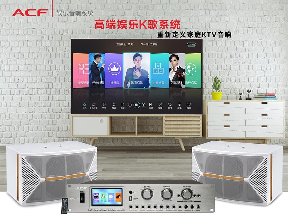 广州某家庭采购了爵士龙民用音响家庭卡拉OK音响